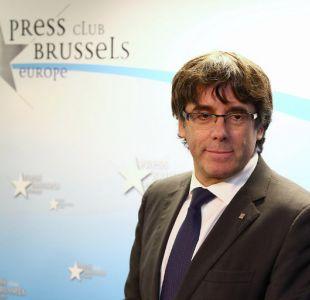 Fiscalía de Bruselas ordenará detención de Puigdemont para que un juez revise su situación