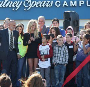 Britney Spears inaugura nueva fundación para niños con cáncer