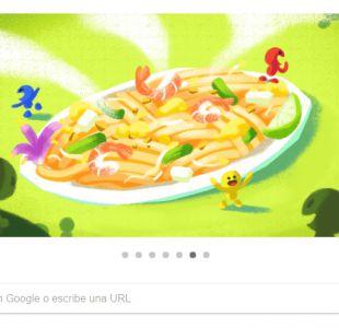 Google celebra un clásico de la comida tailandesa