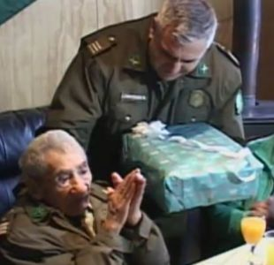 [VIDEO] Don Celino será despedido con honores de Carabineros