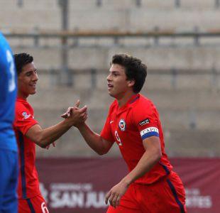 """""""La Roja"""" logra aplastante goleada sobre República Checa en el Sudamericano Sub 15"""