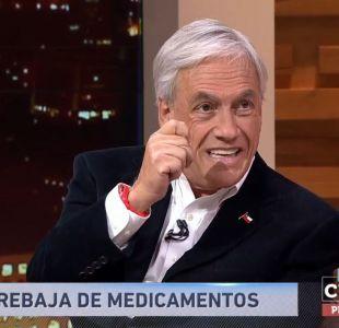[VIDEO] Sebastián Piñera: El lobby de las farmacias y laboratorios es muy poderoso