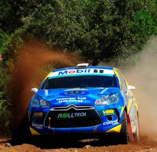 Cristóbal Vidaurre se titula campeón sin correr en el Rally Mobil