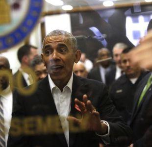 Obama se presenta para servir como jurado en Chicago pero lo dejan ir