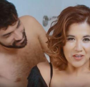 Carolina Soto trabajó en su nuevo videoclip junto al actor Felipe Contreras