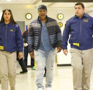 Niegan ingreso a Chile a Mike Tyson por no cumplir con Ley de Extranjería