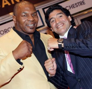 El duro ataque de Diego Maradona a Chile por impedir el ingreso de Mike Tyson