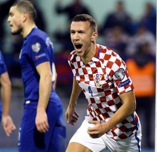 Croacia y Suiza se acercan a Rusia 2018 ganando en la ida de los repechajes europeos
