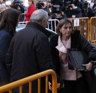 La fiscalía pide prisión incondicional para la presidenta del parlamento catalán