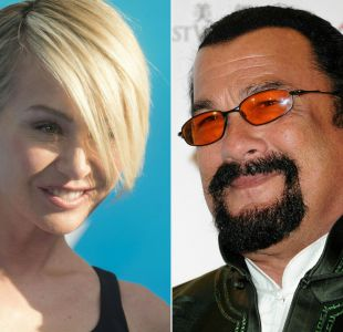 Actriz Portia de Rossi acusa a Steven Seagal de acoso sexual