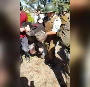 [VIDEO] Así fue la detención del sospechoso de matar al cabo José González