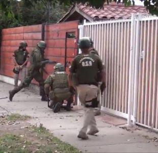 [VIDEO] El amplio operativo que busca desenmascarar a los involucrados en el robo del siglo