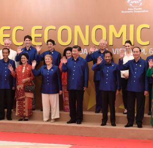 Bachelet coincide con Trump en cumbre APEC en Vietnam