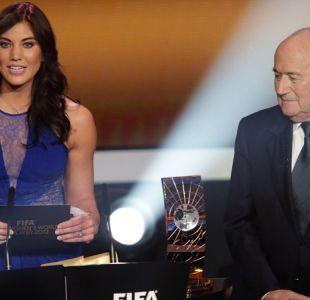 Leyenda del fútbol femenino de Estados Unidos denuncia acoso sexual de Joseph Blatter