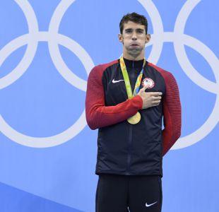 El histórico nadador Michael Phelps visitará Chile en diciembre