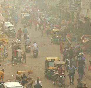 [VIDEO] Emergencia en India por los altos niveles de contaminación