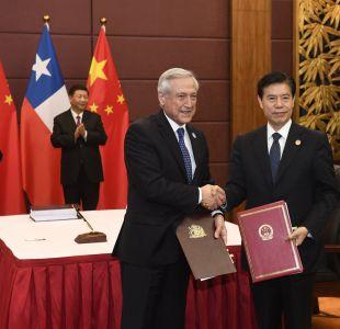 Canciller Muñoz firma nuevo nuevo acuerdo comercial que amplía TLC con China