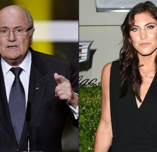 """Joseph Blatter cataloga de """"ridícula y absurda"""" denuncia de acoso sexual en su contra"""