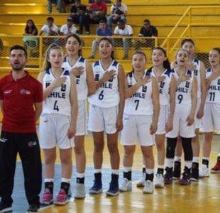 [VIDEO] Chile logra histórico título en Sudamericano de básquetbol femenino sub 14