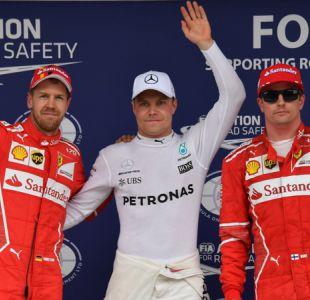 Fórmula 1: Valtteri Bottas saldrá primero y Lewis Hamilton último en el GP de Brasil