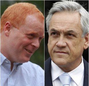 Piñera resta apoyo a candidatura a senador de José Manuel Rojo Edwards