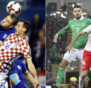 Croacia y Suiza buscan ratificar sus triunfos de la ida para clasificar a Rusia 2018