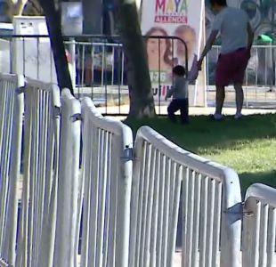Polémica por cerco en el Parque Almagro