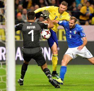 Italia se juega ante Suecia su presencia en el Mundial de Rusia