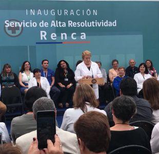 """Bachelet y elecciones: """"Con su voto van a definir el destino de Chile durante cuatro años"""""""