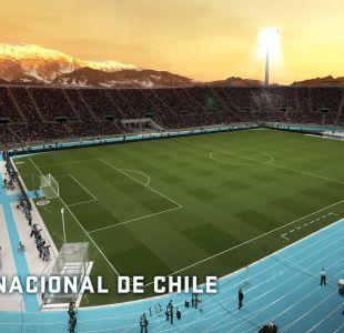 El Estadio Nacional Julio Martínez Prádanos llega a PES 2018
