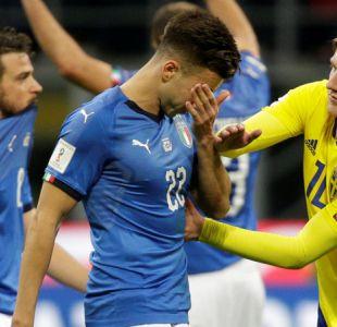 Fracaso histórico: Italia empata con Suecia y queda fuera del Mundial de Rusia 2018
