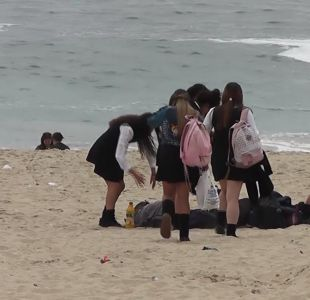 [VIDEO] Despiden a profesora fallecida tras rescatar a alumno en El Tabo