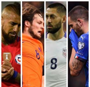 Medio inglés desmenuza a las decepciones de las Clasificatorias, Chile incluido