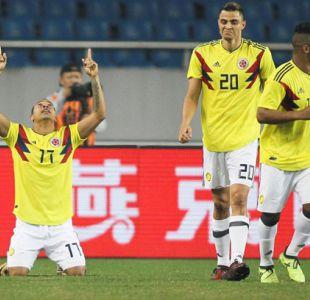 Colombia se sacude y golea a China en amistoso para Rusia 2018