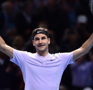 Roger Federer frena a Zverev y avanza a semifinales del Masters de Londres