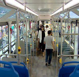 [VIDEO] Buses eléctricos debutan en el Transantiago