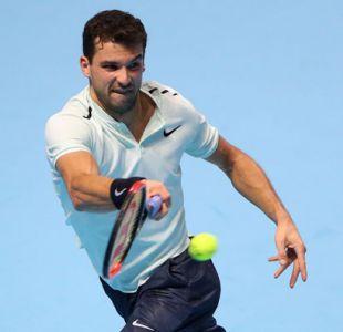 Dimitrov accede a semifinales del Masters al derrotar a un Goffin mermado