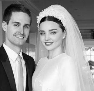 Miranda Kerr y su esposo esperan a su primer hijo