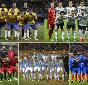 """[FOTOS] Éstas son las naciones que dirán """"presente"""" en el Mundial de Rusia 2018"""