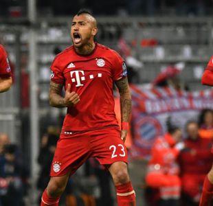 Bundesliga incluye a Arturo Vidal en el once ideal del Bayern Munich moderno
