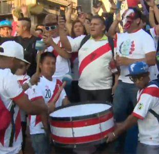 [VIDEO] La fiesta peruana en la Plaza de Armas esperando el duelo ante Nueva Zelanda