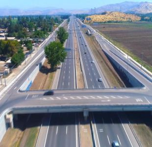 [VIDEO] La mega autopista Santiago-Lampa