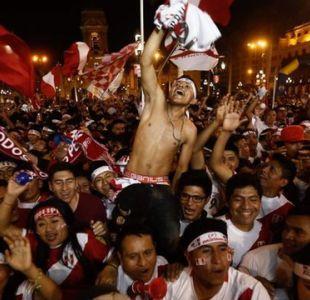 Las imágenes de la alegría incontenible de Perú por la histórica clasificación de su selección