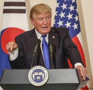 Trump consigue apoyo en Asia para su presión sobre Corea del Norte