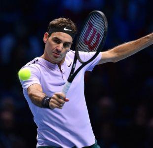 Federer confirma favoritismo: pasa invicto la fase grupal del Masters