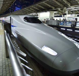 Insólita disculpa pidió una de las compañías de trenes más rápidas de Japón