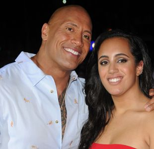 Dwayne Johnson y Simone Garcia Johnson