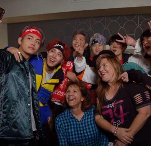 Kimmel le juega una broma a las superfans de BTS e invita a sus madres a conocer al grupo de k-pop