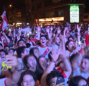 [VIDEO] Perú va al Mundial: Festejos en Lima y Santiago