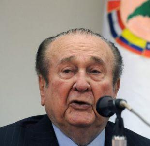 FIFAgate: Justicia paraguaya autoriza extradición a EE.UU. de Nicolás Leoz, expresdiente de Conmebol